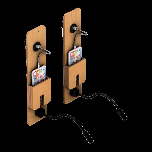 Leeslampje oplade iphone